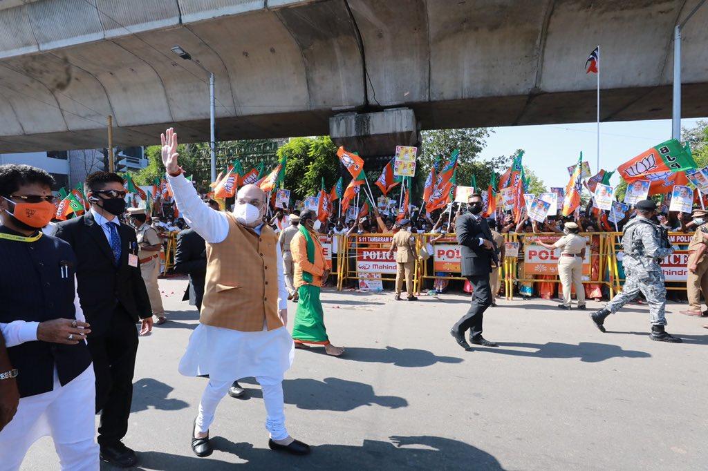 சென்னை வந்தடைந்தேன்!  தமிழகத்தில் இருப்பது என்றும் எனக்கு மகிழ்ச்சியே. இன்று பல்வேறு நிகழ்ச்சிகள் மூலம் எனது அன்புக்குரிய தமிழக சகோதர சகோதரிகளிடையே உரையாற்றுகிறேன்!