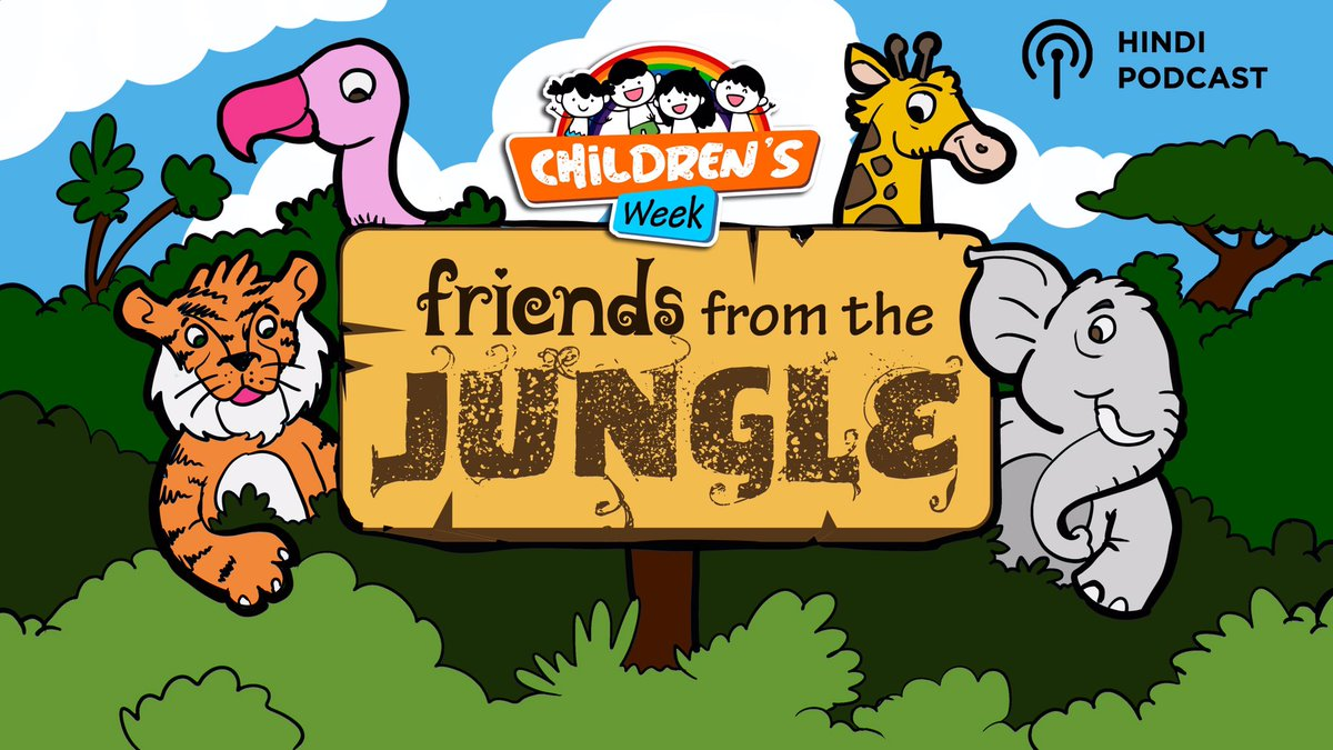While your kids stay safe indoors, give them a virtual tour of the jungle! Embark on an adventure full of fun facts with 'Friends from the Jungle' on Gaana: