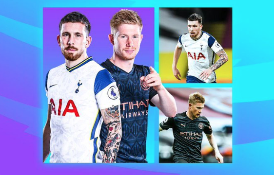 Looking forward to seeing who comes out on top in the Hojbjerg v KdB duel in #TOTMCI   The Spurs midfielder has been excellent this season, but this will be a big test…  Analysis for the @premierleague 👇🏻