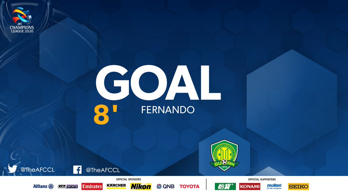 GOAL! | 🇰🇷 @FCSEOUL 0-1 Beijing FC 🇨🇳  💥 Fernando creates space for himself in the box and bounces it past the keeper to give his side an early lead.   #FCSvBJG | #ACL2020