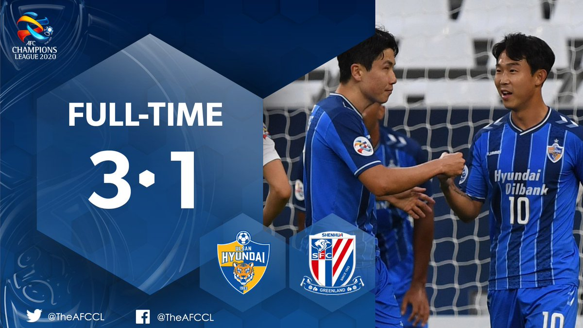 🎥 HIGHLIGHTS | 🇰🇷 @ulsanFC 3-1 Shanghai Shenhua 🇨🇳  Yun Bit-garam's brace helps Ulsan claim all 3⃣ points in their first match in 🇶🇦.  📰 Match Report:   #ULSvSHE | #ACL2020