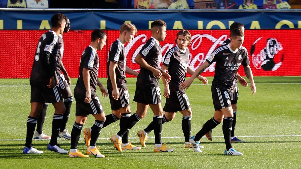 👊 @marianodiaz7 يفتتح التسجيل!  فياريال 0-1 ريال مدريد #هلا_مدريد | #RMLiga