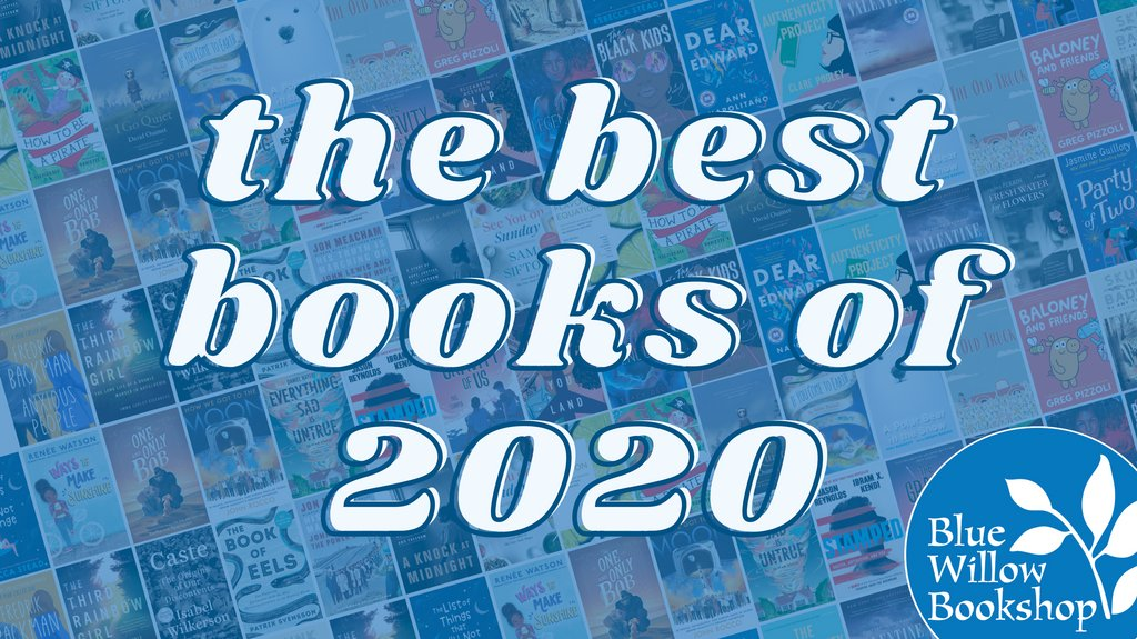 """We're ready to help you pick out the right book for everyone on your list! 🎁✨  Check out our annual """"best books"""" list to see some of our very favorite books of the year... and be sure to let us wrap them up for you! 📚💙"""