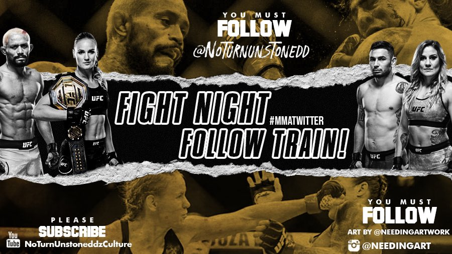 #UFC255 FIGHT NIGHT FOLLOW TRAIN!!🔥💯    1. RETWEET & LIKE this Post. 2. Follow Me, @needingartwork & MMA fans that RT/Like. 3. Drop your fight predictions below. 4. Watch your following grow & connect with new fans!🚆  Modern Warfare Ep #9 👇🏽✅ https://t.co/PbXHq71Cya https://t.co/h3Ao87A23R