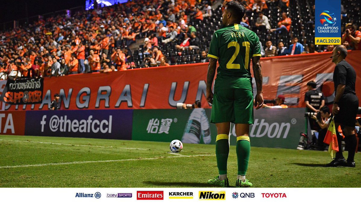 🔹 Beijing FC's Jonathan Viera created 7⃣ chances (including an assist) in his only game in #ACL2020 against Chiangrai United. No player has created more chances in a single game in the 2020 competition.  🤨 Will he create another one against FC Seoul?  #FCSvBJG | #ACL2020