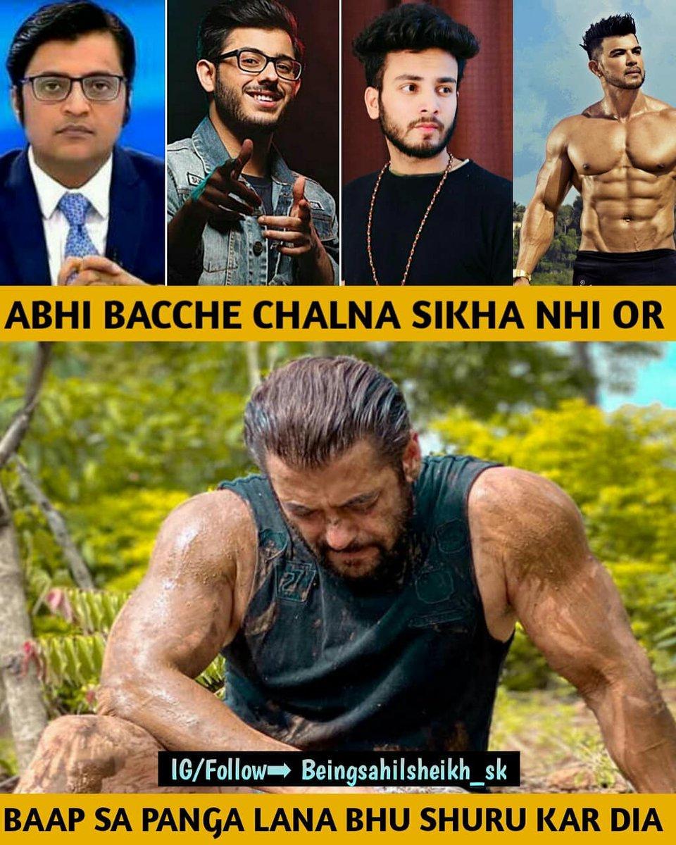 BAAP SA PANGA LENGA!!  #SalmanKhan #kick2 #BeingSalmanKhan #BeingHuman #tiger #sultan #salmankhankijaiho #salmankhanfans #SalimKhan #KatrinaKaif #salmankhanno1worldwide #biggboss13 #bb13 #bharatposter #radhe #beingStrong #AsimRiaz