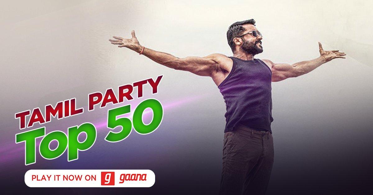 Set the party mood right by shaking your leg to Rakita Rakita Rakita, Vaathi Raid, and peppy hits. Now on Gaana: