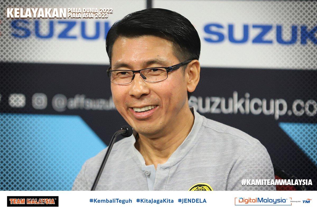 2 more years with the boss! 😁  Menurut @AFFPresse, ketua jurulatih #HarimauMalaya, Tan Cheng Hoe telah dilanjutkan kontraknya oleh @FAM_Malaysia sehingga 2023. Semoga 2021 akan menjadi tahun yang mantap buat skuad kebangsaan! #WCQ #AsianQualifiers #KembaliTeguh #KamiTeamMalaysia
