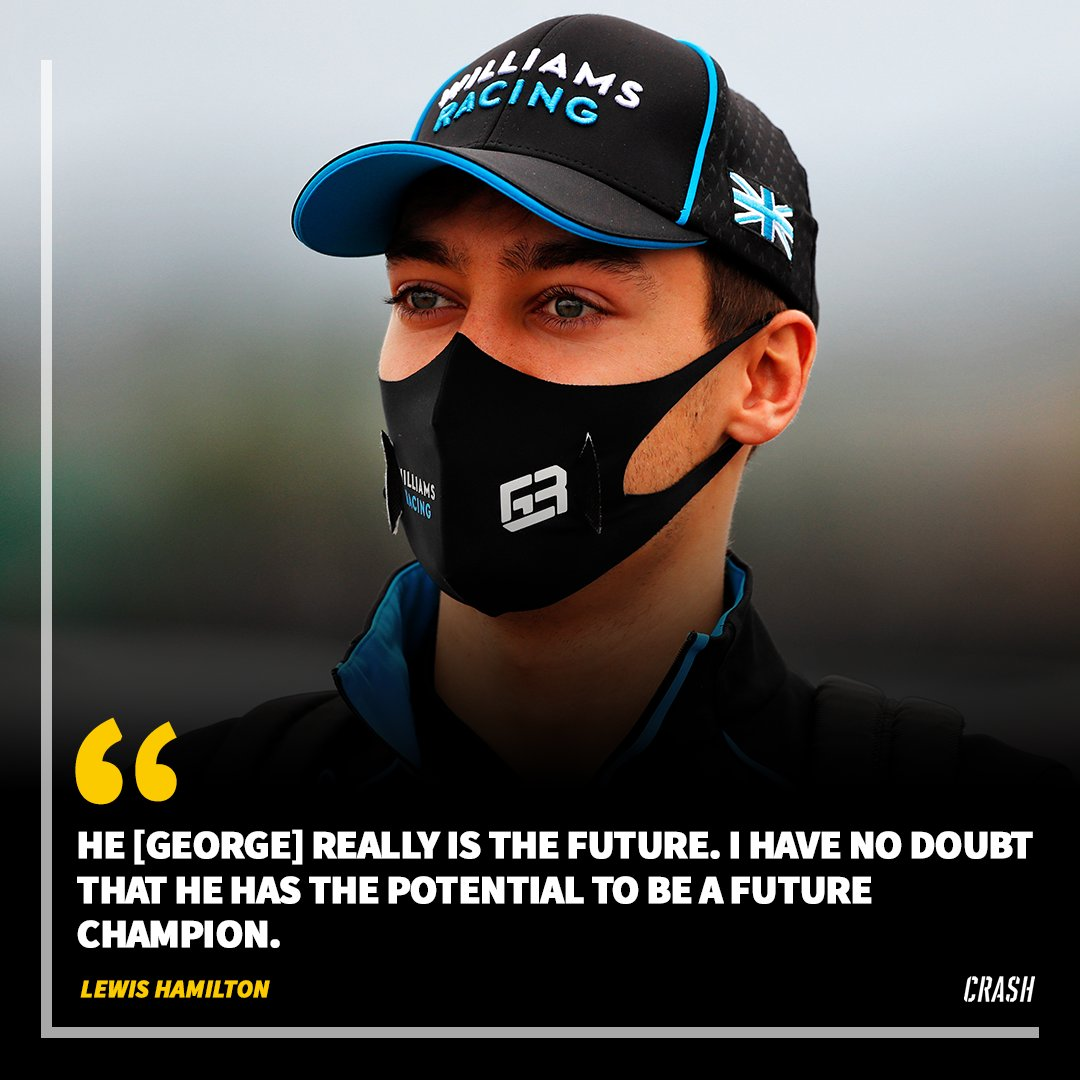 "Lewis Hamilton has heaped praise on George Russell to be a ""future champion"" 🏆  #F1 https://t.co/rPHtaDc5Us"