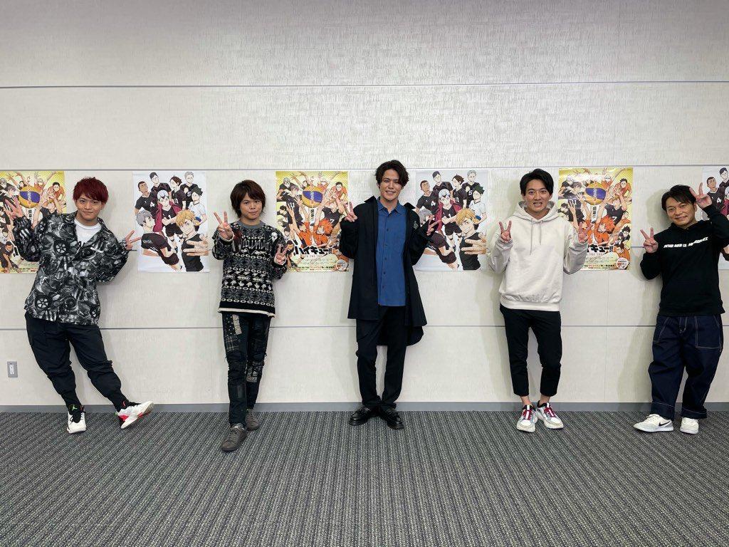 TVアニメ『ハイキュー!! TO THE TOP』 稲荷崎戦クライマックス特番をご覧頂きました皆様、ありがとうございました!!クライマックスに突入した稲荷崎戦にご期待下さい!! #ハイキュー #hq_anime