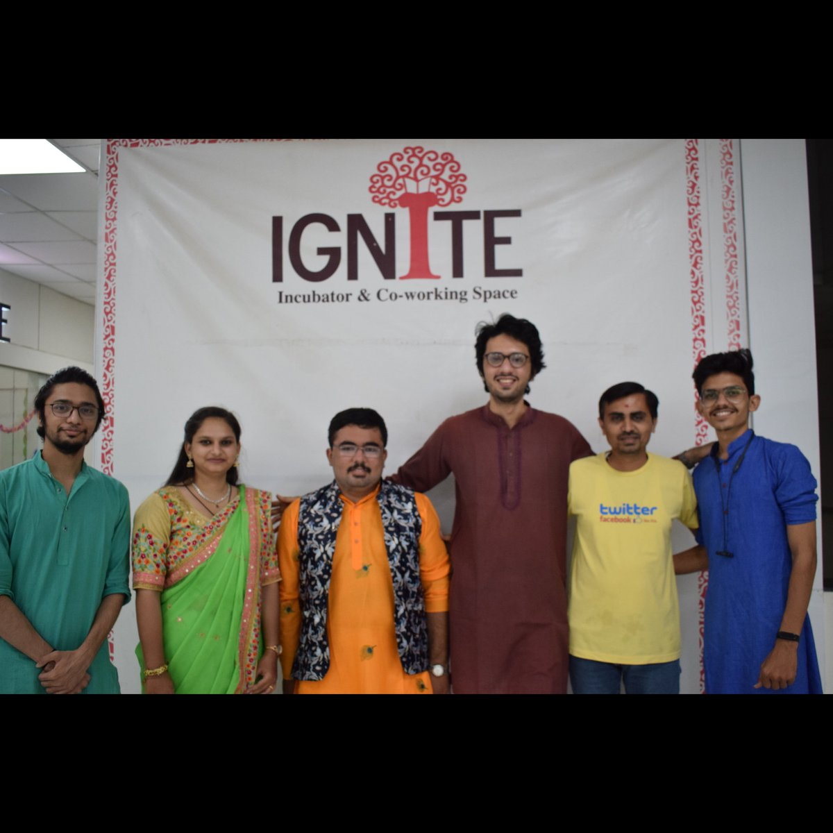 A group becomes a #team when each member is sure enough of themselves and their contribution to praise the skills of others. #latepost  Oct 17 to 25, 2020, celebration of #shubhaarambhnavratri2020 at @ignitesocet  #teamwork #challenges #eventplanning #navratri2020 #navratri https://t.co/TlDI7fqkGq