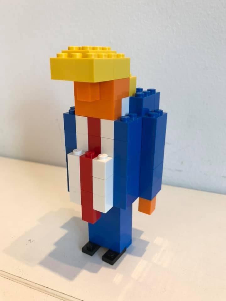 友達の夫のレゴ作品。天才じゃない?