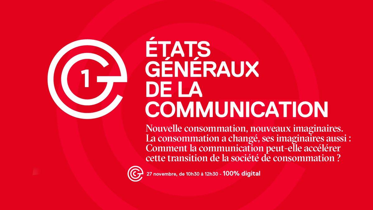 Les #EGCom2020 s'articuleront autour de 3 grands sujets :  1️⃣Nouvelle consommation, nouveaux imaginaires. La consommation a changé, ses imaginaires aussi : Comment la communication peut-elle accélérer cette transition de la société de consommation ?  Présenté par @bertilletoledan