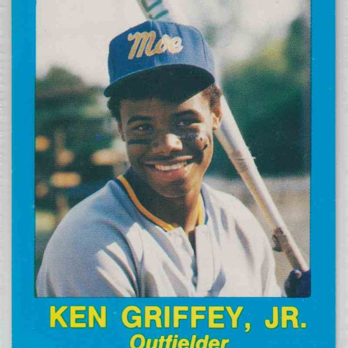 Happy Birthday to 1987 alum Ken Griffey Jr!!