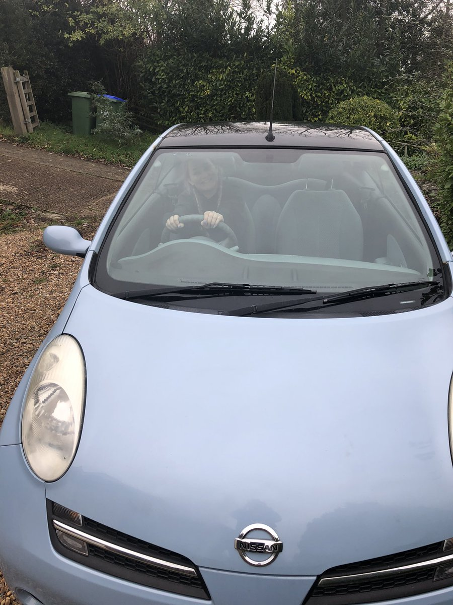 test Twitter Media - Youngest child buys first car 🚙 💕 💗 #OfficiallyOld #InHouseTaxiService #YouAlwaysRememberYourFirstCar https://t.co/viYoiXk9nh