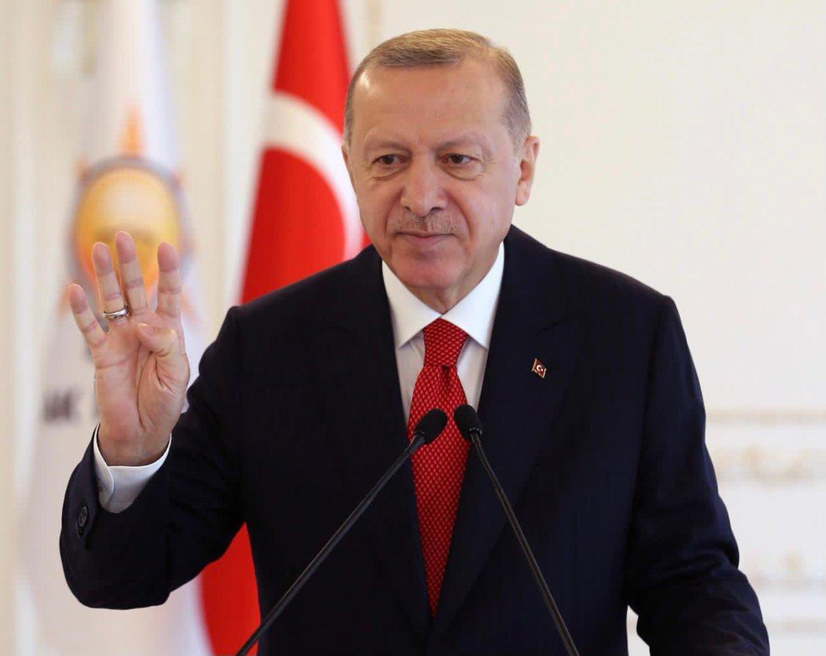 """""""Her karışıyla ülkemizi geliştirme, büyütme, güçlendirme, zenginleştirme mücadelemizde yeni bir dönem başlattık"""""""