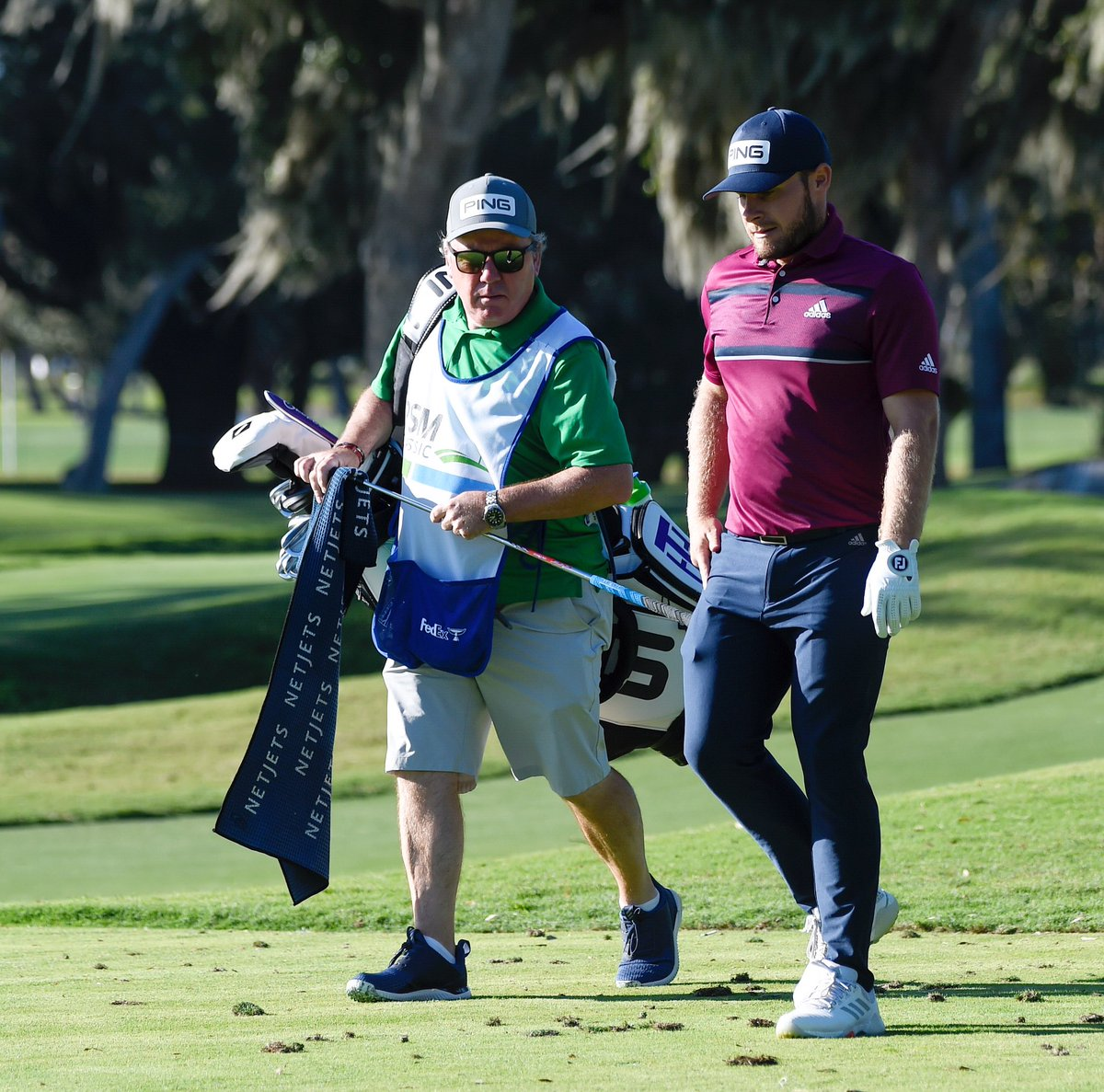 Walking into moving day at the RSM Classic.   Best of luck @TyrrellHatton. 🤜🏽🤛🏼 @PGATOUR