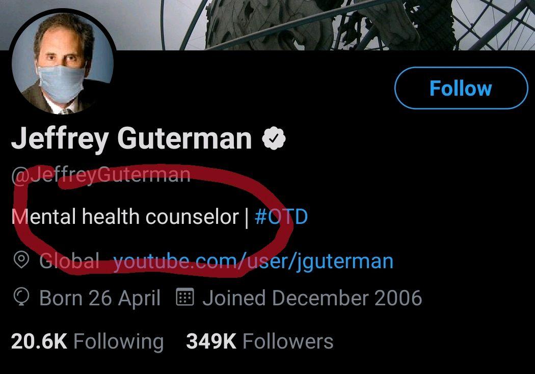 @JeffreyGuterman @realDonaldTrump I wouldn't get any advice off this guy.