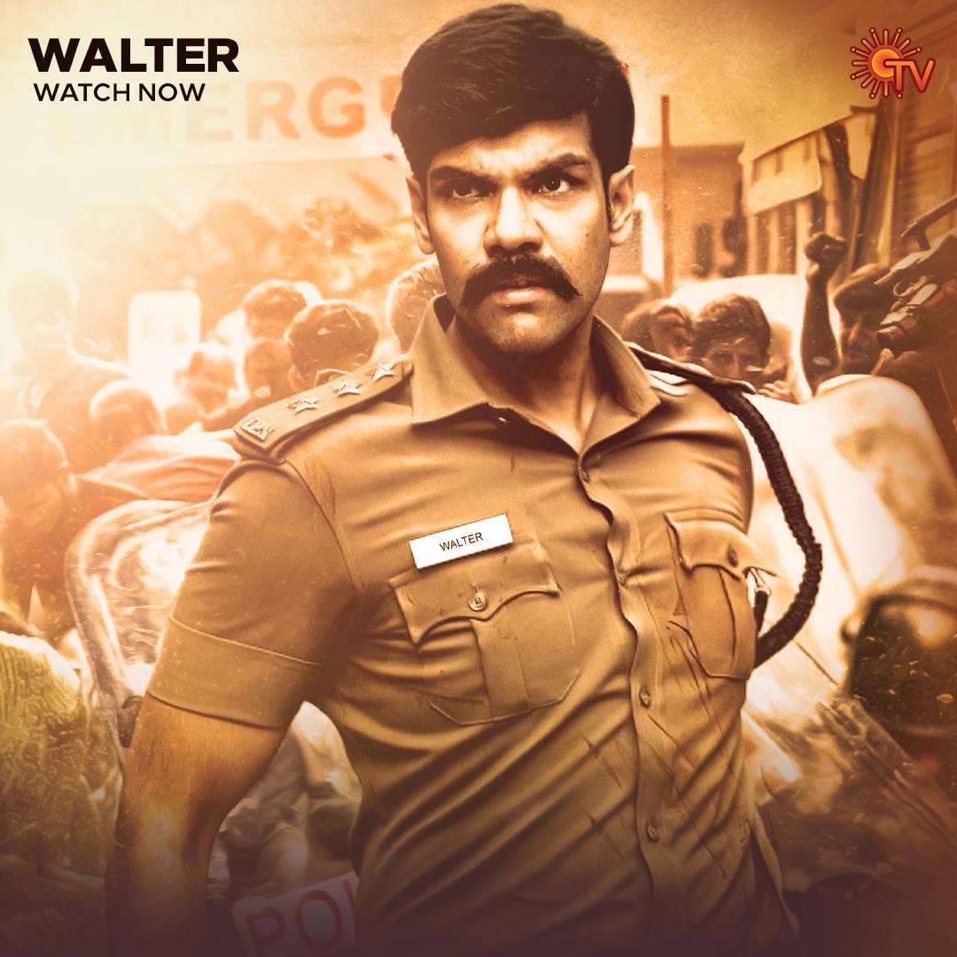 Replying to @SunTV: வால்டரின் விசாரணை தொடங்குகிறது!   வால்டர் | Watch Now   #SunTV #Walter #WalterOnSunTV @Sibi_Sathyaraj