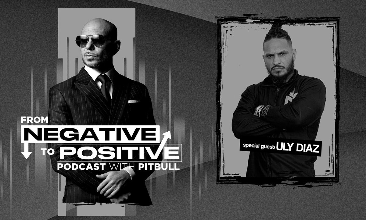 "#NEWS The brand new @Pitbull's Podcast ""From Negative to Positive"" featuring @Uly_MONSTER is now also AVAILABLE on YouTube! #FromNegativeToPositive #MrWorldwide #Pitbull ⠀⠀⠀⠀⠀⠀⠀⠀⠀ Watch it here:"