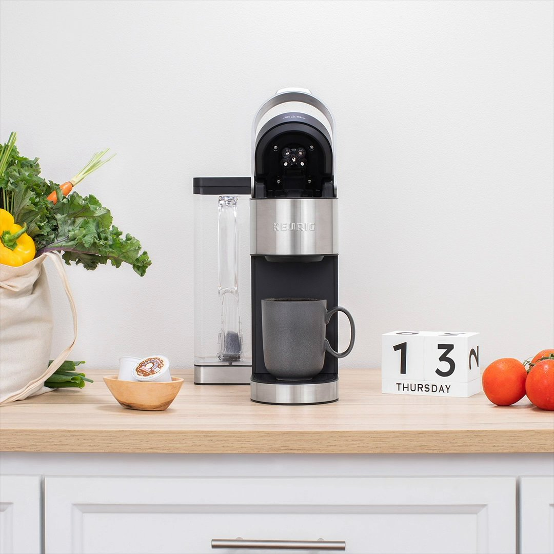 Elevate your coffee routine with our new K-Supreme Plus Brewer. Customize the strength, size and temperature to fit your lifestyle day after day. #BrewTheLove