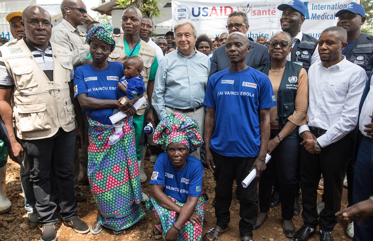 I am very pleased that the most recent Ebola outbreak in the Democratic Republic of the Congo is over.  Having seen the resilience of survivors & health workers there last year, I know that the same spirit of solidarity that led to this success must guide #COVID19 global efforts.