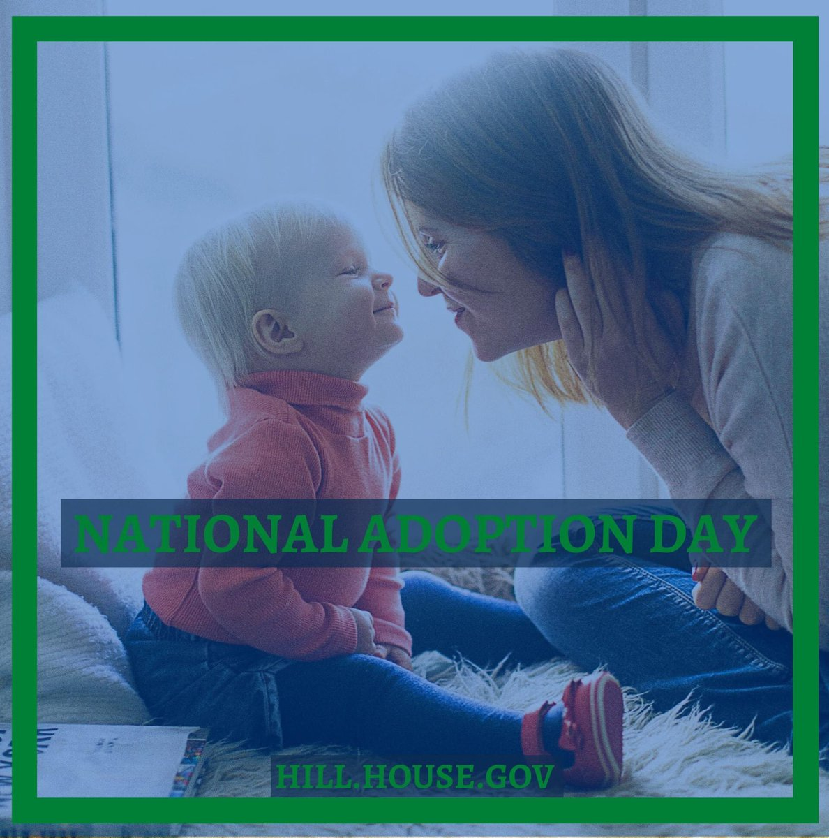 Join me in celebrating #NationalAdoptionDay!   There are thousands of kids in foster care in #Arkansas and not enough families for them all.     Thank you to each wonderful parent who brings an adopted child into their family.    #ALLINforWaitingKids