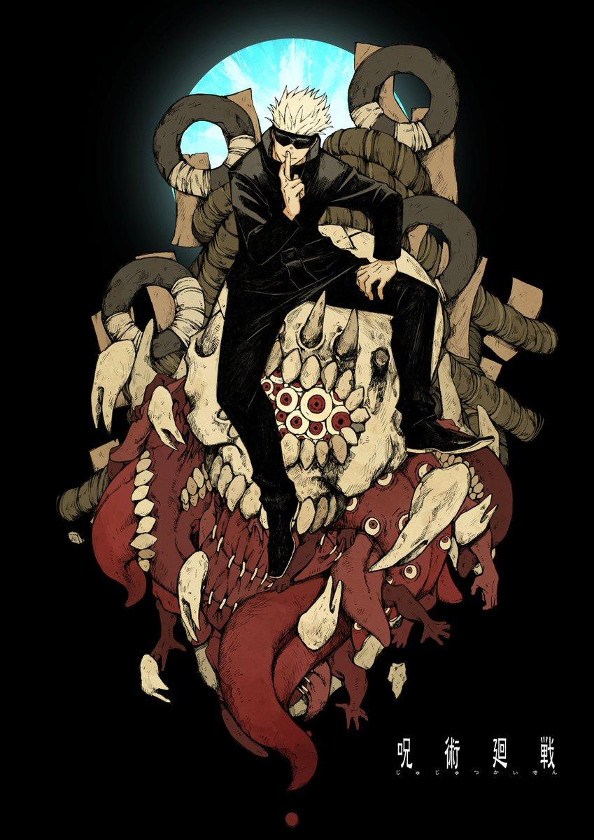 「呪術廻戦」アニメ鑑賞記念、気になるキャラクタが多過ぎる