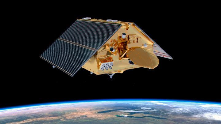 Hoy a las 12:17pm ET (5:17pm UTC) lanzaremos el satélite europeo-estadounidense Sentinel-6 Michael Freilich para monitorear los mares de nuestro planeta con una precisión sin precedentes. La científica del clima Erika Podest de @NASAJPL explica la relevancia de esta misión. https://t.co/QO85nAyfdh