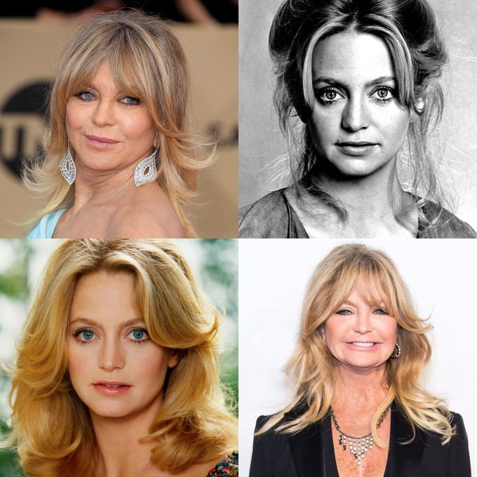 Happy 75 birthday to Goldie Hawn. Hope that she has a wonderful birthday.