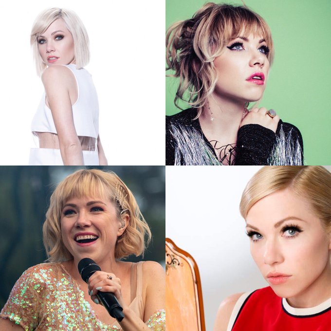 Happy 35 birthday to Carly Rae Jepsen. Hope that she has a wonderful birthday.