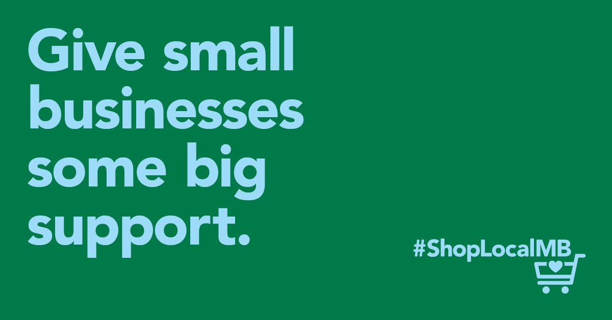 Manitoba'slocal businesses offer high quality products and services and are finding creative and innovative ways to safely provide them through online orders, delivery and curbside pickup. #ShopLocalMB