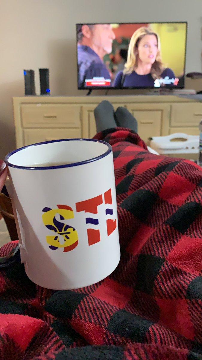 Tis a day for tea and Christmas movies. #RainyDay #HallmarkMovie #NotSorry