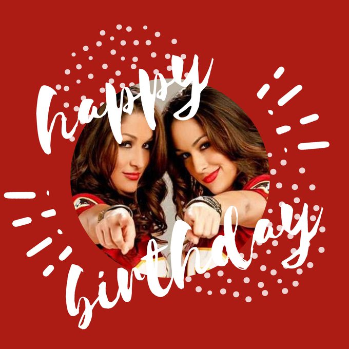 Happy Birthday, The Bella Twins