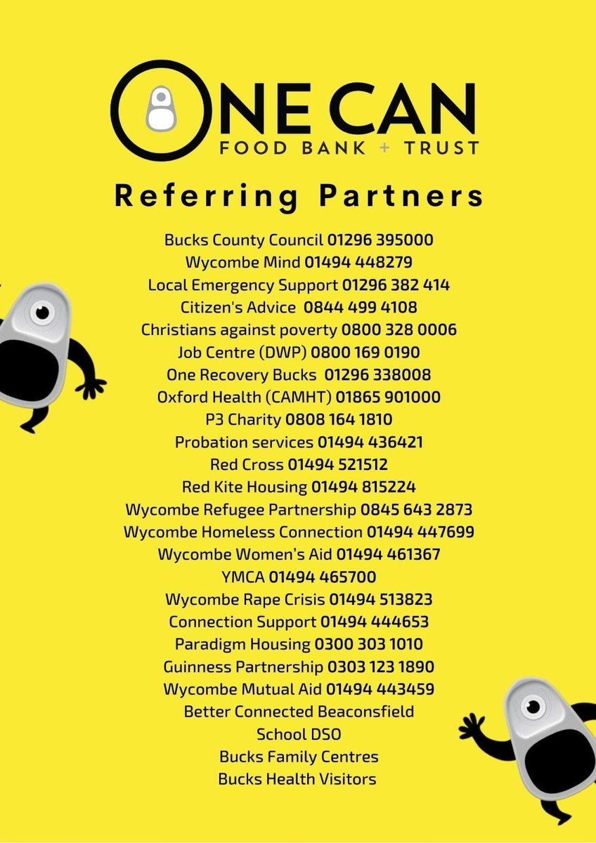 Here is more info on the referral partners @One_Can_Trust