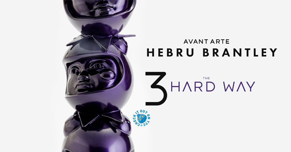 """because we are stronger together."" 3 THE HARD WAY by Hebru Brantley @HEBRUBRANTLEY x Avant Arte @avant_arte"