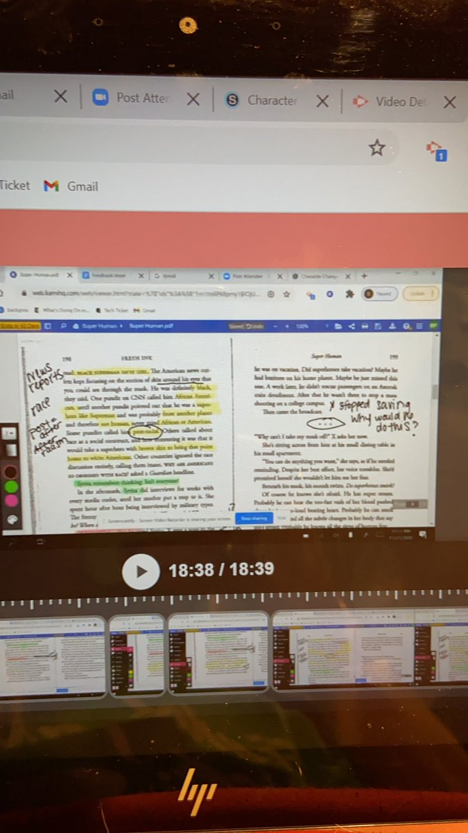 Thankful my district updated @Screencastify so I can do annotated think aloud and edit my word fumbles!