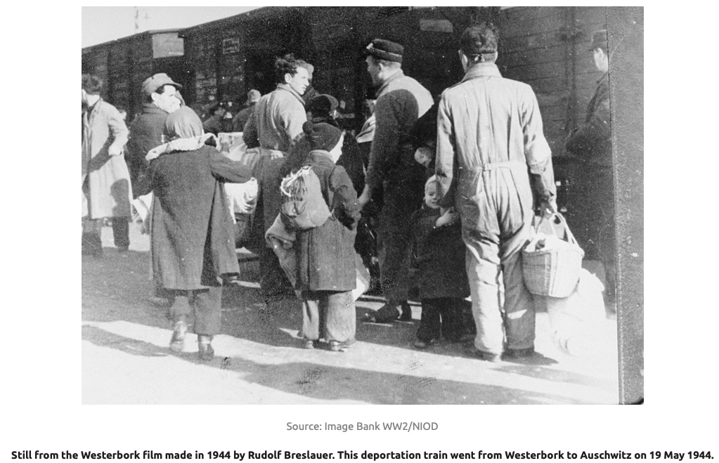 21 November 1942   A transport of 726 Jews deported from #Westerbork in German-occupied Netherlands arrived at #Auschwitz. After the selection 44 men and 35 women were registered. 644 people were murdered in a gas chamber. Online lesson: lekcja.auschwitz.org/32_en/