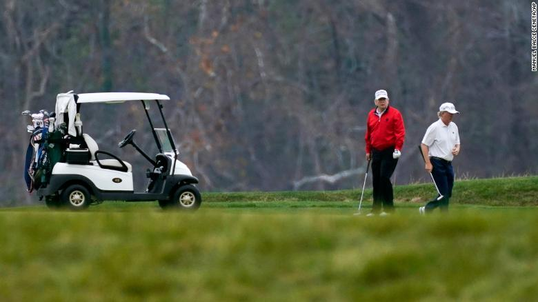 Trump appears to be skipping a side-event at the G20 virtual summit focused on pandemic preparedness. The President has just arrived at his golf course in Virginia. https://t.co/4045RD0SQj https://t.co/YBlNpZIW40