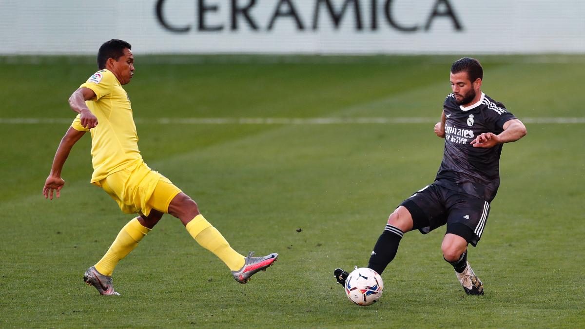 El delantero atlanticense Carlos Bacca fue titular y jugó hasta el minuto 61 en el empate 1-1 del Villarreal contra Real Madrid en #LaLiga de fútbol de España. Villarreal es segundo con 19 puntos, dos más que el Real. ⚽️ VIL: Gerard Moreno (76' penal) ⚽️ REA: Mariano (2') https://t.co/NIpRLyalau