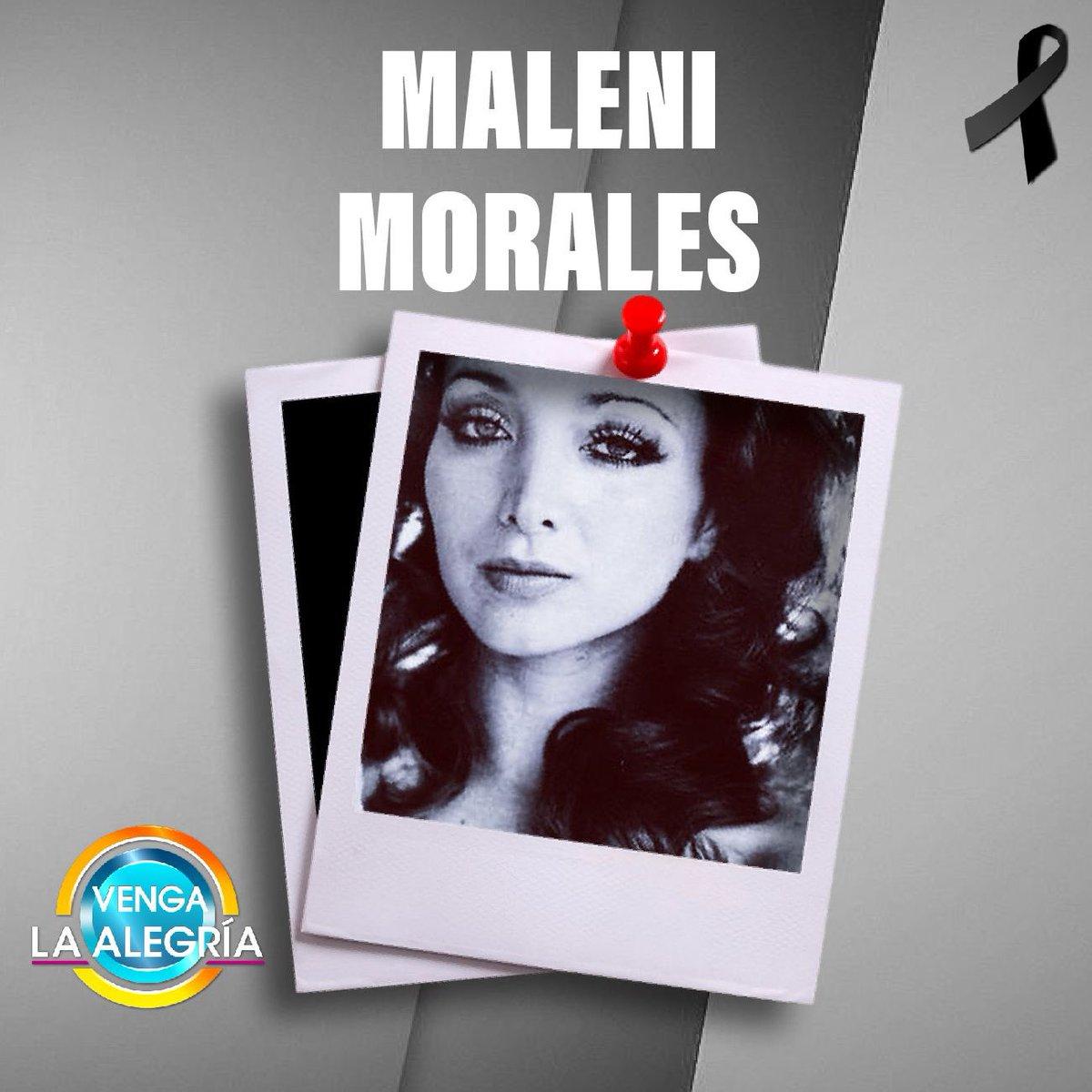 ¡Lamentablemente falleció la querida actriz Maleni Morales, esposa del también actor Otto Sirgo! 🙌🏻😢🕊¡Descanse en paz! #VLA https://t.co/ljKOP2Nx2Z