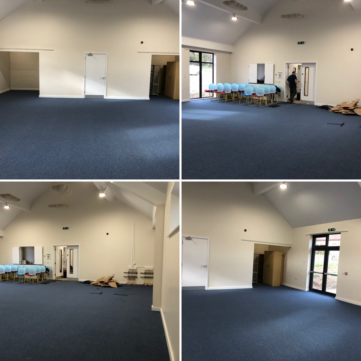 We're very excited to see the floor go down in our new Bandroom today, fingers crossed it won't be long before we can get in and start rehearsals again  #music #rehearsals #brassbands #Amersham