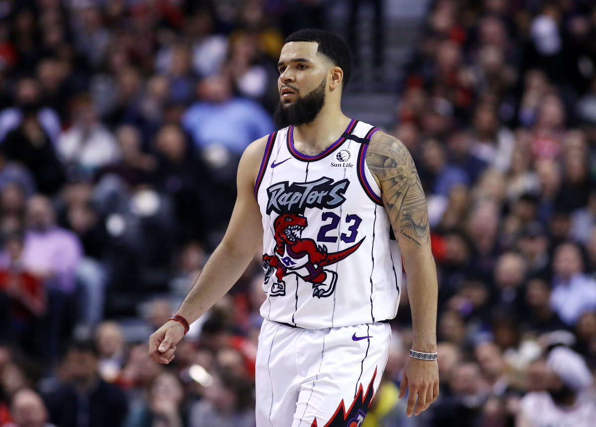 Fred VanVleet has agreed to a four-year, $85M deal to re-sign with the Raptors, per @ShamsCharania