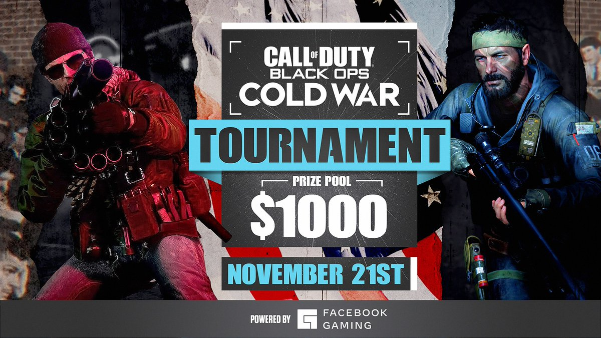 The @CGNYLAN @CallofDuty: Black Ops Cold War $1,000 tournament powered by Facebook Gaming is underway! Which team will come out on top? Tune in to find out!  🎮🏆 |