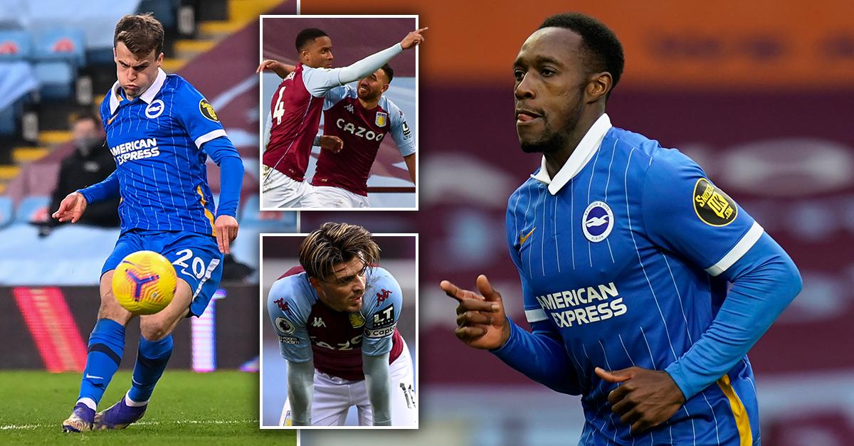 VAR denies Aston Villa last-gasp penalty to ensure Brighton nick all three points https://t.co/RgvevyBSBN https://t.co/1bm2CRL7R2