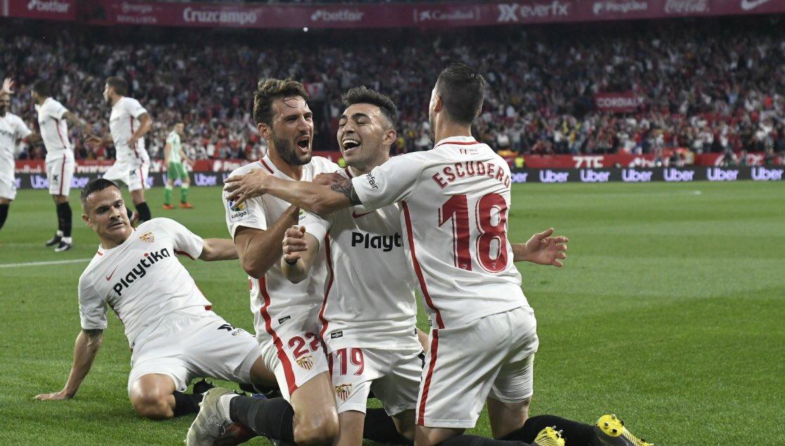 Gol del sevilla al celta el real Madrid ha empatado contra el Villarreal 1:1 https://t.co/wvYQDfdvDj