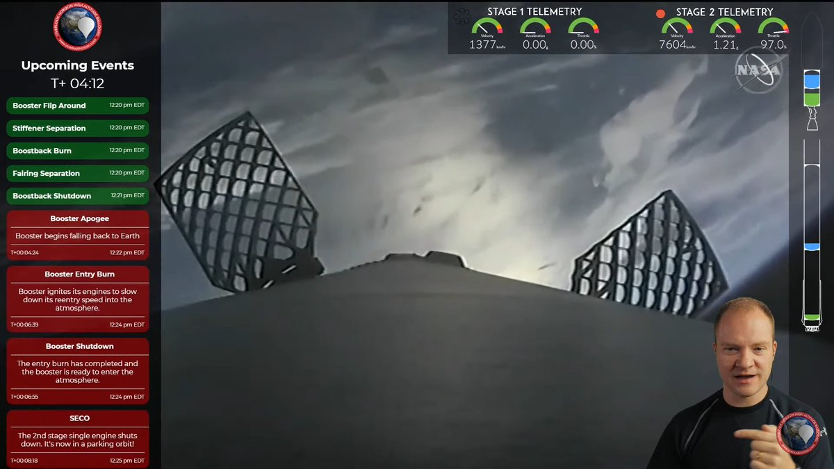 @NASA Do you wanna see the stream done right? Even better than @SpaceX ? Head to this guy:  He's showing it with all info and doing quite great commentary.