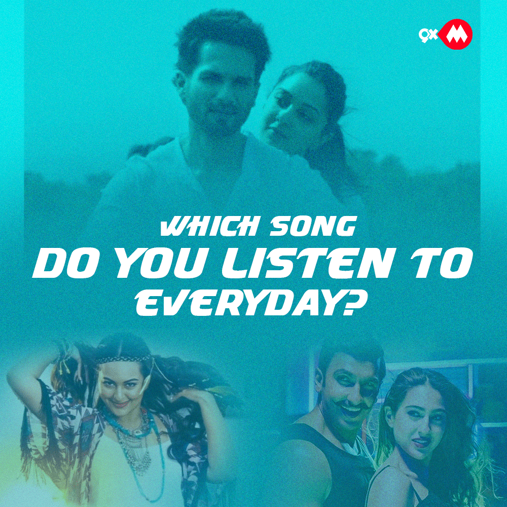 It's not possible to sleep without that one song! Which song is it? #Bollywood