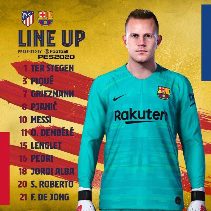 EnXi1z2XUAgof1T?format=jpg&name=small Alineaciones oficiales del Atlético de Madrid - Barcelona - Comunio-Biwenger