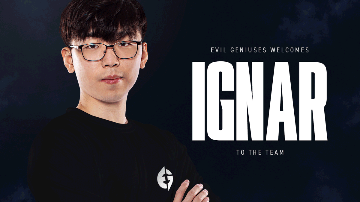 Evil Geniuses - Our newest team member knows a few things about putting pressure on the Rift.  Welcome to the dark side of the #LCS, @IgNarLoL. #LIVEEVIL